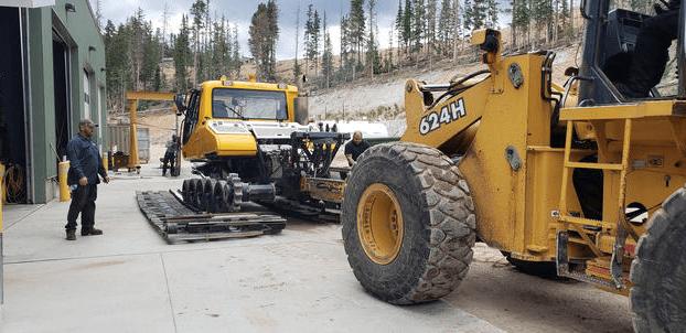 Vehicle Maintenance-Track Work