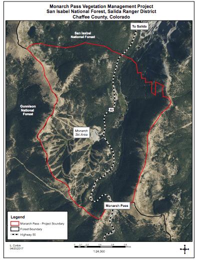 Monarch Pass Veg Mgmt Project