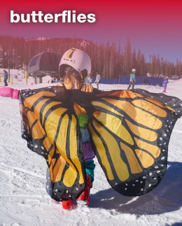 Butterflies (Ages 5 & 6)Enjoy the mountain with your child and create memories that will last a lifetime.