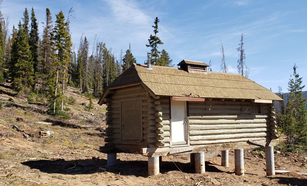 Cabin in place