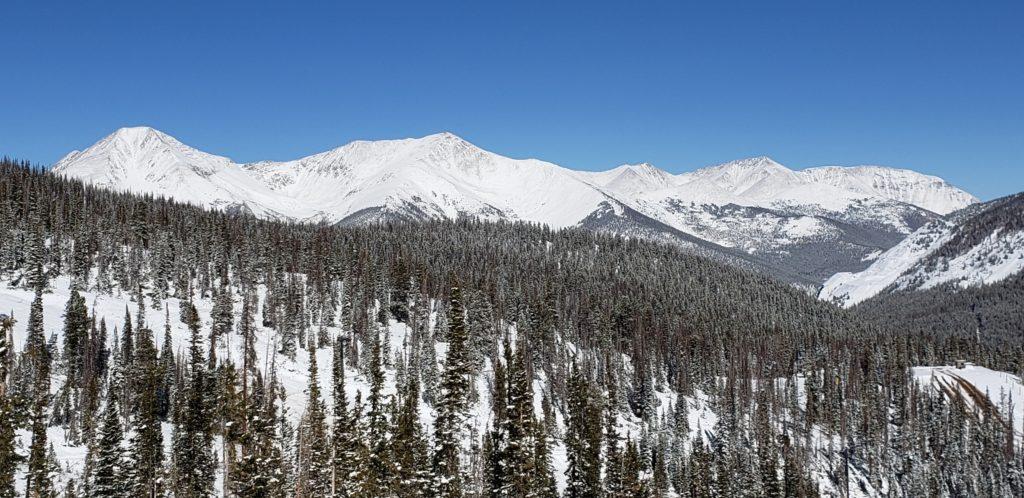 Snowy Sawatch Mountains