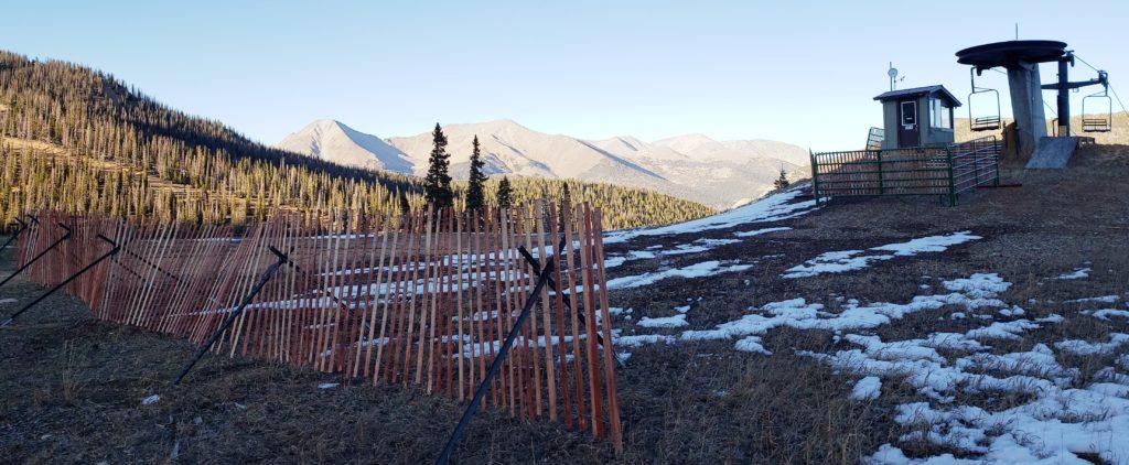 Bare slopes