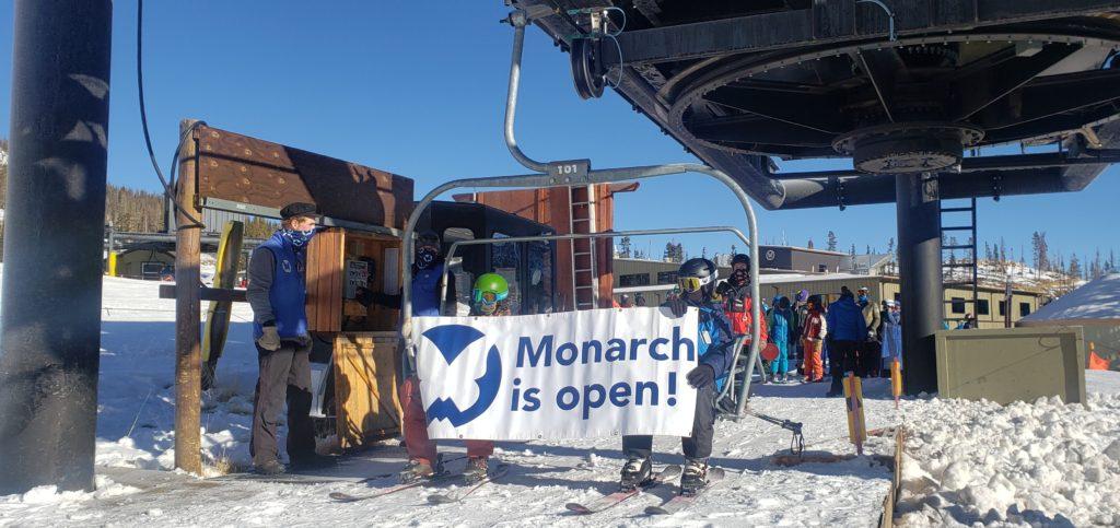 Monarch is open