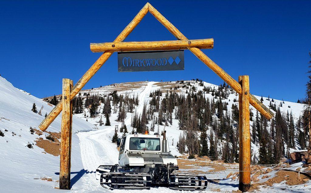 Snow road up to Mirkwood