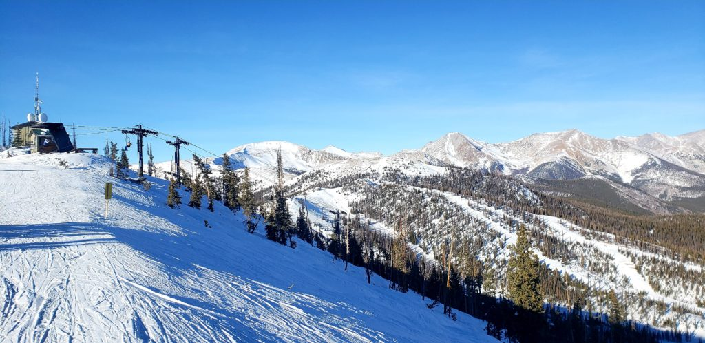 Top of Pano and the Sawatch Range