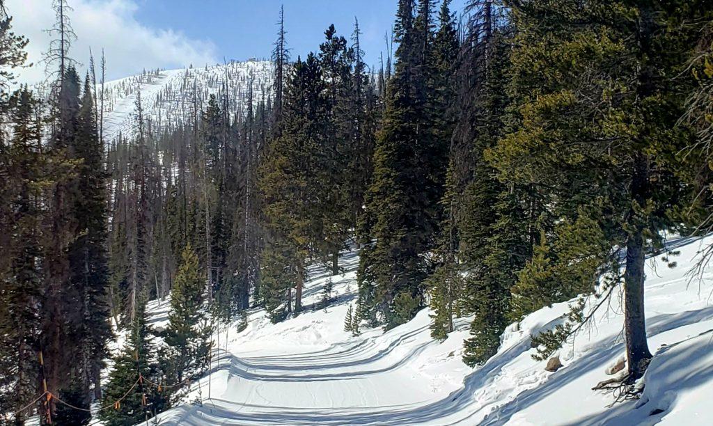 Egress road and Pano ridge